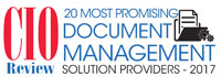 Top 20 Document Management Solution Providers 2017