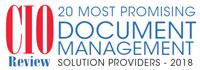 20 Most Promising Document Management Solution Providers - 2018
